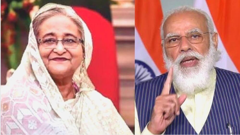 बांग्लादेश की प्रधानमंत्री शेख हसीना ने प्रधानमंत्री मोदी को उपहार में दिए 2600 किलो आम