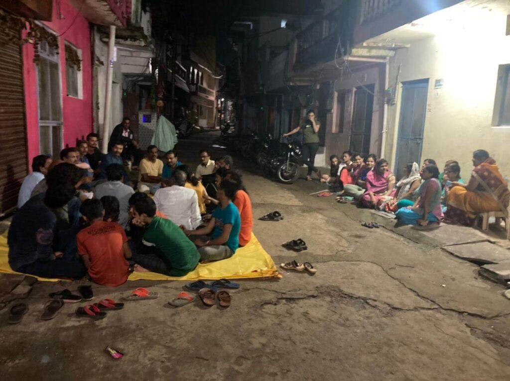 Seoni News-नवरात्रि को लेकर बैठक हुई सम्पन।